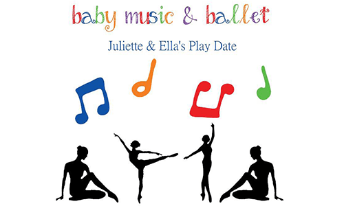 Juliette & Ella's Play Date: Baby Music & Ballet (at Yeoryia Studios)